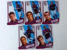 TOPPS PREMIER LEAGUE 2006/07 I-CARDS. FULL SET OF ALL 5 ASTON VILLA