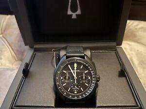 Bulova 98A186 Lunar Pilot Chronograph Men's Watch - Black