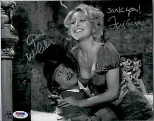Gene Wilder & Teri Garr Dual Signed Young Frankenstein Knockers Movie Photo PSA