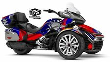 "Can Am Spyder F3-LTD Decal Graphic Wrap kit - ""Taiwan Edition"""