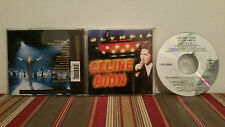 Celine dion  a  l'olympia Music cd case-disc-insert '94 print  2/2