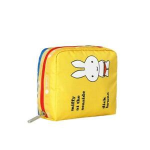 LeSportsac Dick Bruna Collection Medium Book Pouch in Miffy At Seaside NWT