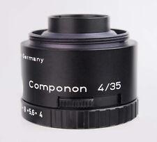 Schneider Kreuznach Componon 4/35mm 35 mm 1:4 enlarger lens 13686626