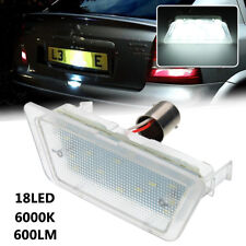 LED License Number Plate Light Lamp For Vauxhall Opel Astra G MK4 Saloon 98-04