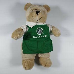 Starbucks Coffee Green Apron New Zealand Bearista Bear 1st Edition 2006