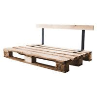 2x Lehne für Palettenmöbel Rückenlehnenhalter Lehnenhalter Sitzbank Lehnen Bank
