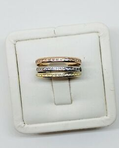Real 10k Gold Women's Stackable Ring Size 9 - Anillo
