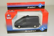 A2 1:43 SOLIDO PEUGEOT EXPERT DARK BLUE POLICE MINT BOXED