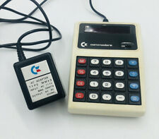 COMMODORE MINUTEMAN CALCULATOR  1970's Vintage MM3M W/ adapter Works Tested