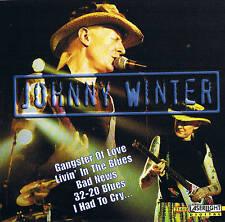 JOHNNY WINTER Country CD NEU & OVP 18 Tracks Album Laserlaght 2000