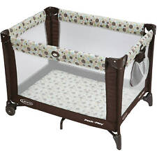 Portable Playard Infant Toddler Folding Baby Crib Home Outdoor Traveling Play