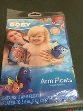 """Inflatable Arm Floats 5.8"""" Disney Finding Dory Nemo Age 3+ NEW"""