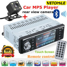 1 DIN Autoradio Touchscreen Bluetooth MP3 MP5 Player RDS FM AUX-IN USB/TF Kamera