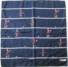 -Superbe Foulard DANIEL HECHTER  100% soie  TBEG vintage scarf