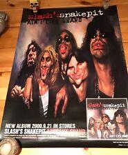 Slash's Snakepit Ain't Life Grand Japanese Album Promo Poster Guns n Roses Slash