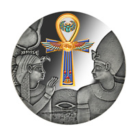 2020 Cameroon 1000 Francs Egyptian Ankh 1 oz Silver Proof Coin - 999 Made