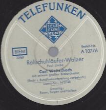Blasorchester Carl Woitschach :  Rosen, Tulpen und Nelken ( Paul Lincke )