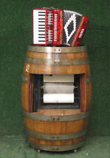 Automated accordion  roll coin operated