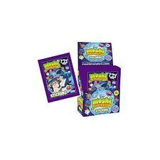 TOPPS MOSHI MONSTERS Serie 2 Púrpura Pegatinas Colección - 5 Pegatinas Paquetes
