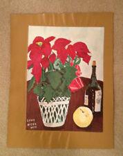 "AUTHENTIC ARTAGRAPH OIL PAINTING ""WINE,FRUIT,FLOWERS"" LOU NIZER SIGNED # 9/700"