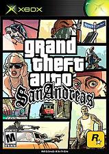 XBOX or XBOX 360 Grand Theft Auto: San Andreas sanandreas *Black Label*