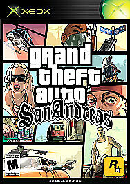 Grand Theft Auto: San Andreas (Microsoft Xbox, 2005) DISC ONLY
