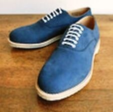 Scarpe Shoes CHURCH DEUCE Pelle Nubuck Blue UK 9.5F=IT 43,5 Pianta Standard