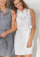 NEW Mud Pie WOMEN'S SIZE S (4-6) Marley SHIRTDRESS Chambray/Blue Classic EASTER