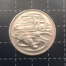 1981 AUSTRALIAN 20 CENT COIN 3.5 CLAW VARIETY