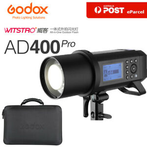 Godox AD400 Pro WITSTRO All-in-One Outdoor Flash with Li-on Battery TTL HSS