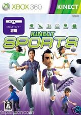 Used Xbox 360 Kinect Sports MICROSOFT JAPAN JP JAPANESE JAPONAIS IMPORT