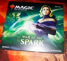 Magic The Gathering War of the Spark Bundle Box10 Booster Packs fat pack NEW MTG