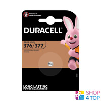 DURACELL 377 376 SR626SW BATTERIES SILVER OXIDE 1.5V WATCH EXP 2022 NEW