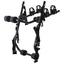 HOMCOM Portabici Posteriore per Auto Pieghevole Portata 2 Bici Max 30kg Acciaio