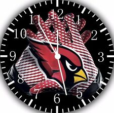 ARIZONA CARDINALS Wall Clock Nice For Gift or Home Office Wall Decor F13