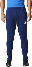 Mens Adidas Dark Blue/White Tiro 17 Training Pants