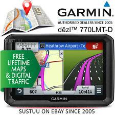 Garmin Dezl 770LMT-D │ 17.8cm Navigatore Satellitare GPS │ Camion Autocarro │ di