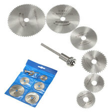 6PCS 20000RPM HSS Circular Saw Blades Cutting Discs Wheels for Rotary Tool