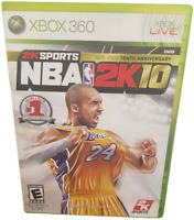 NBA 2K10 Tenth Anniversary Xbox 360 Game