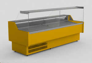 AMIS REFRIGERATED SERVE OVER COUNTER DISPALY VARIOUS COLOURS & DIMENSIONS