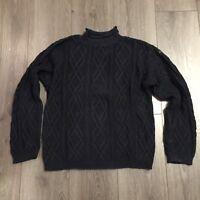 Baumwolle-Pullover Pulli * JOOP * Gr. M * dunkelblau