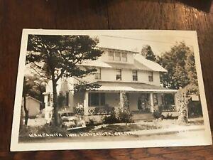 Manzanita Inn in Manzanita Oregon OR Postcard RPPC