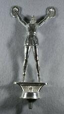 Vintage Silver Metal Cheerleading Trophy Topper-New Old Stock-Very Nice!