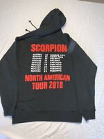 Drake Scorpion North American Tour 2018 Hoodie Red Letters Size M