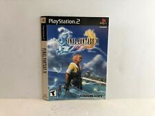 Final Fantasy X PS2 Black Label Artwork ONLY Insert Authentic