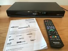 More details for panasonic dmr-hw100 hdd recorder, 320gb, twin hd tuner, freeview+ with remote