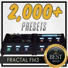 ✪ 2,000+ tones✪ Fractal AXE FM3 Presets Essential Collection ✪