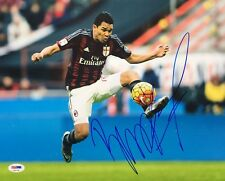 Carlos Bacca Signed Soccer 11x14 Photo Psa Ae81759