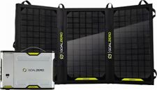 New SEALED Goal Zero 42011 Sherpa 100 Solar Panel Recharging Kit 8800mAh 20 Watt