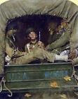 FRAMED CANVAS Art print giclee Willie Gillis in Convoy